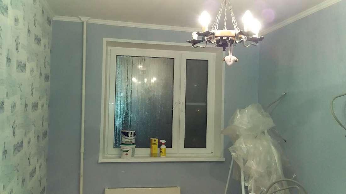 Косметический ремонт в отдельной комнате.